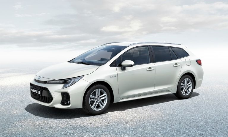 Suzuki launches Toyota-based hybrid wagon