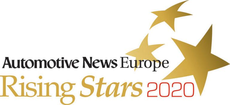 2020 ANE Rising Star logo with stars and publication name