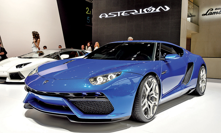 Lamborghini concept hints at move to less extreme looks