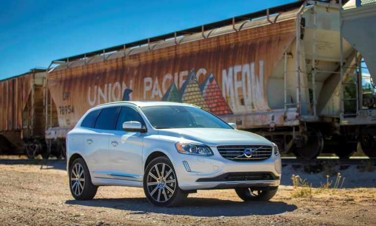 Volvo defies gravity