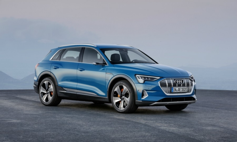 Audi enters electric era with e-tron crossover