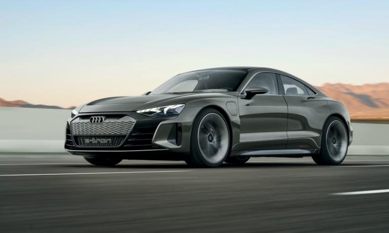 Audi e-tron GT concept previews Tesla Model S rival