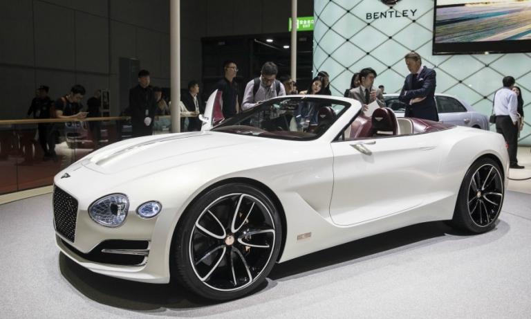Bentley says battery tech not ready for ultraluxury EV