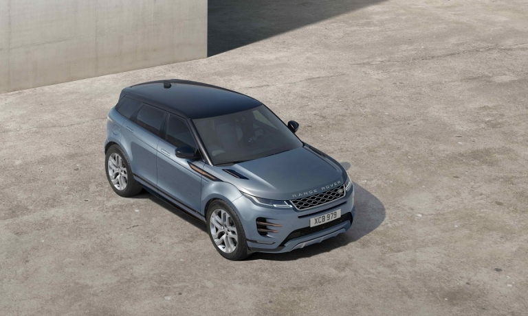 Range Rover Evoque gets hybrid tech to cut emissions