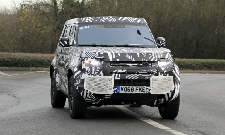 Land Rover gears up for Defender launch