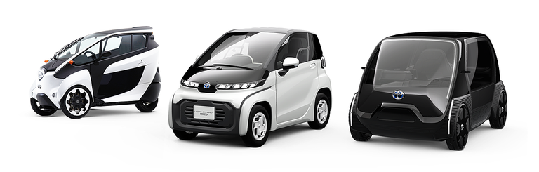 Toyota unveils vision for electric compact (very compact) personal mobility