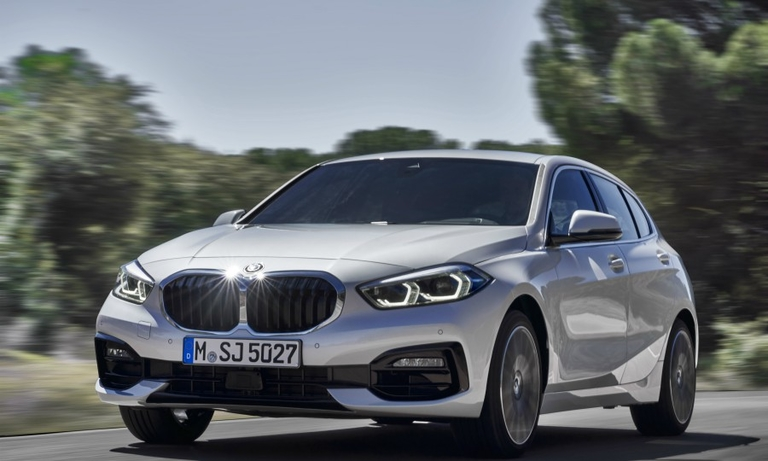 BMW makes reversing easy in new 1 series