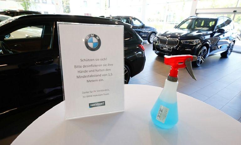 German market's sales slide slowed in May after showrooms reopened