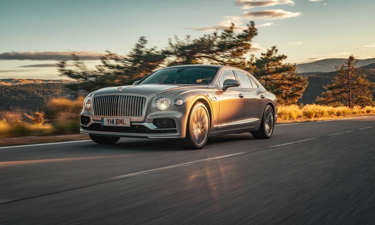Bentley's speedy Flying Spur takes aim at Mercedes duo