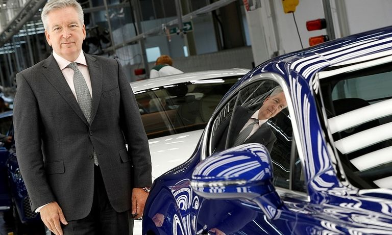 Bentley CEO talks about becoming electric-only, Brexit preparations, Audi cooperation