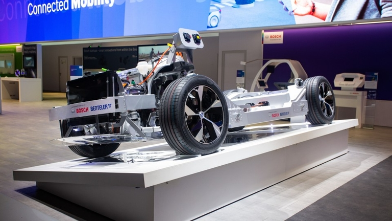 How Benteler aims to cut EV entry costs with 'skateboard'