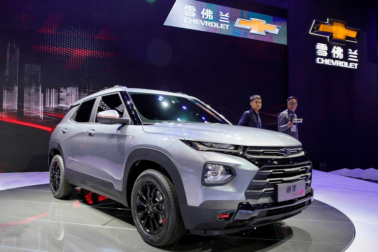 Chevy revives Trailblazer, Tracker for China