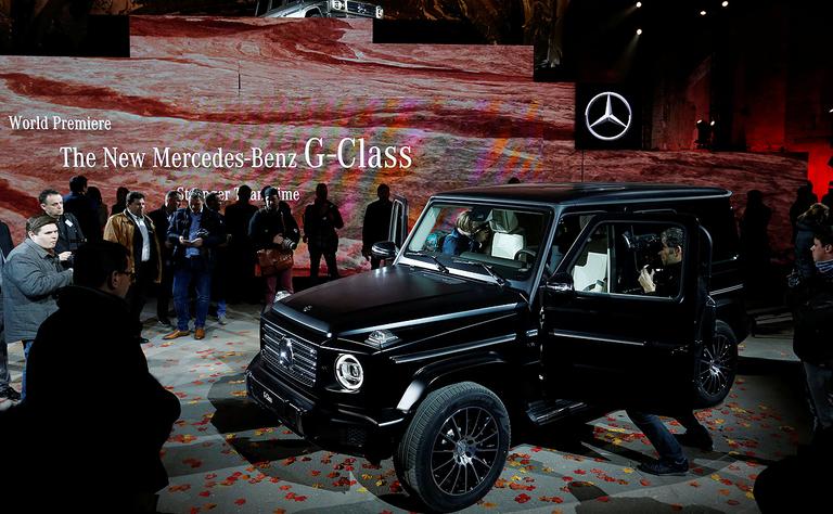 Mercedes confirms plan to skip 2019 Detroit auto show