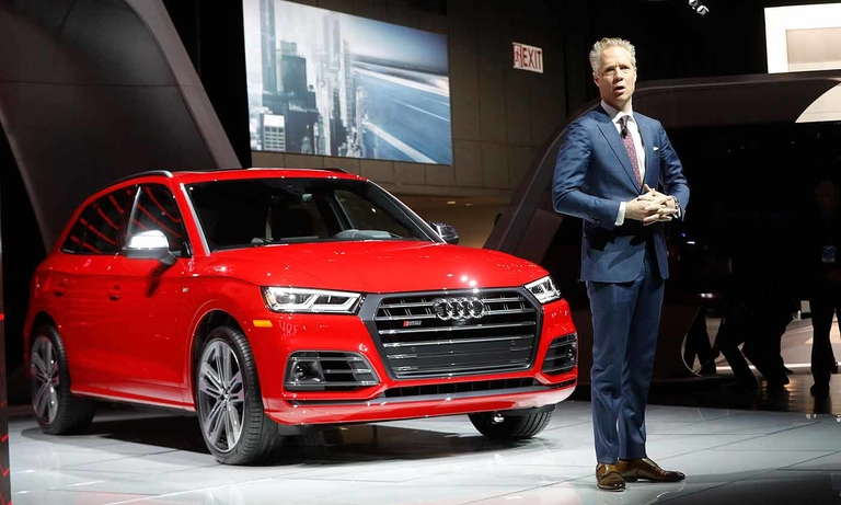 Audi will skip 2019 Detroit auto show, joining BMW, Mercedes
