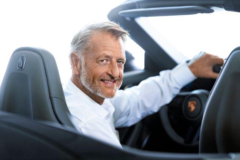 Why Porsche sales boss von Platen is feeling optimistic