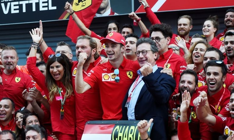 Ferrari's Camilleri will be a hard act to follow