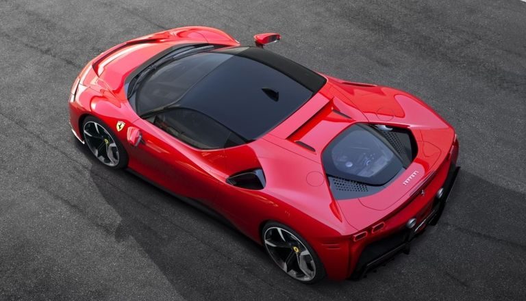 Ferrari's first plug-in hybrid slowed by supply issues