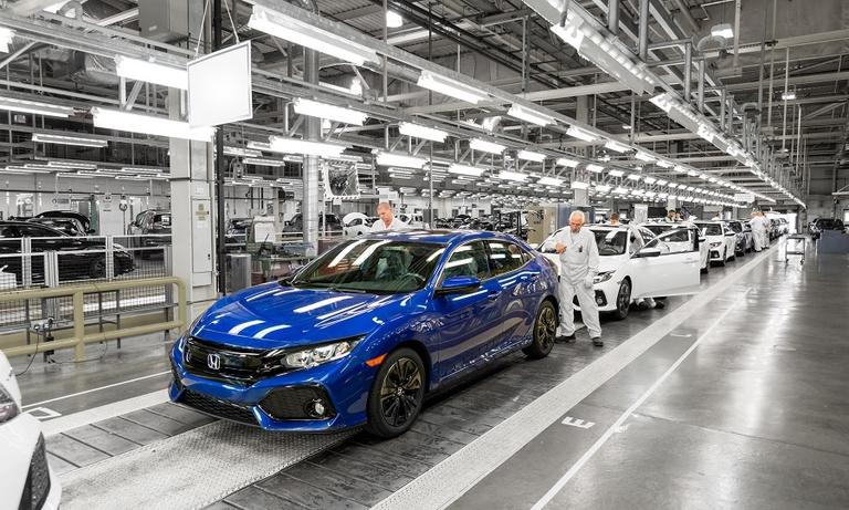Honda plans to restart UK production early next month