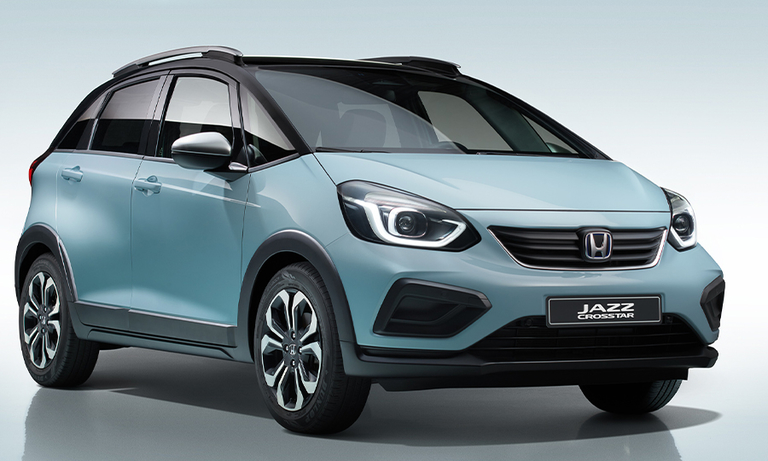 Honda adds crossover-styled model to Jazz family