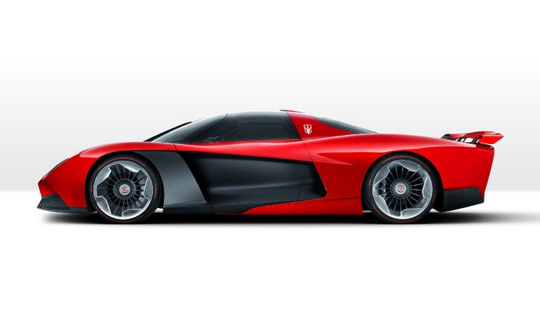 The S9 was unveiled at the Shanghai auto show with red bodywork -- the color of FAW's Hongqi brand and Italian racecars.