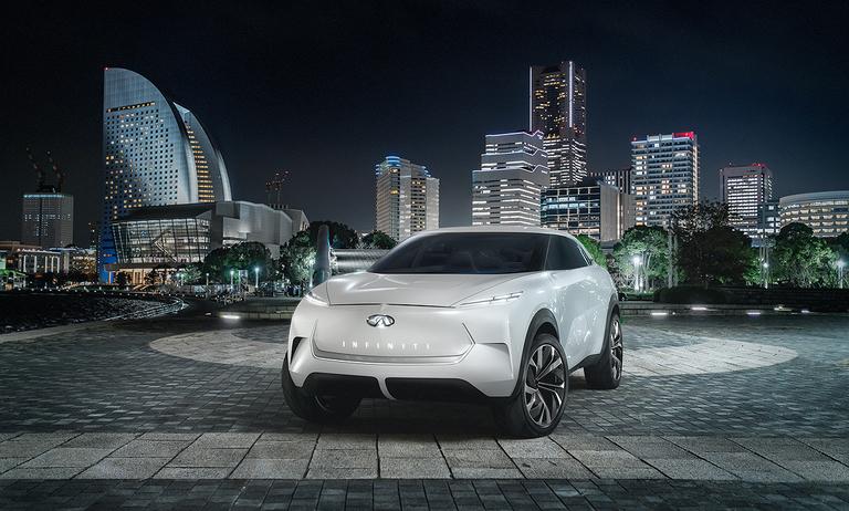 Infiniti to unwrap EV crossover concept at Detroit show