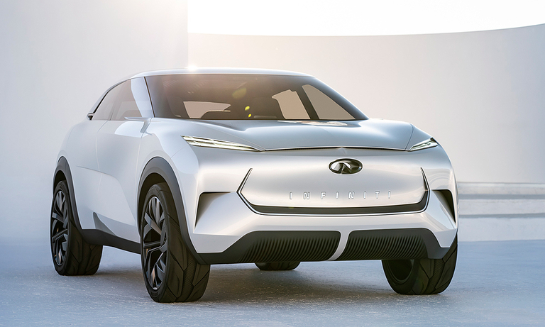 Infiniti EV push charges ahead with QX Inspiration concept