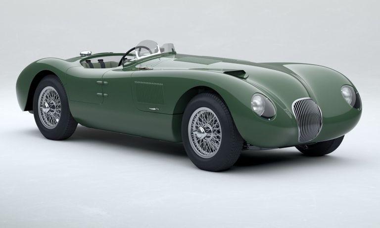 Jaguar brings back 1950s racing icon