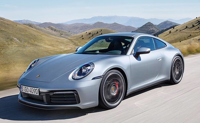 Porsche boosts new 911's wet-road performance