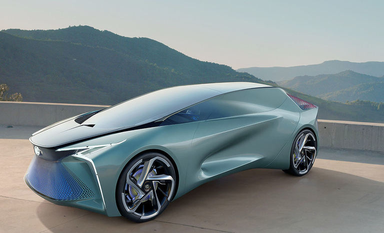 Lexus concept foretells an electrified future