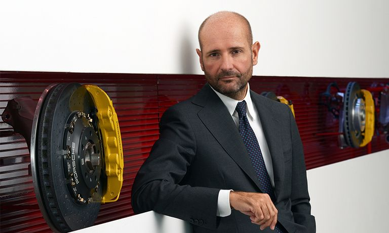 Brembo Executive Deputy Chairman Matteo Tiraboschi