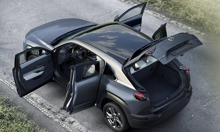 Mazda extends MX name to new MX-30 electric crossover