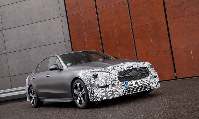 Mercedes' new C-Class will drop big engines and won't have full-electric version