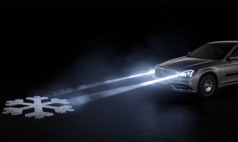 Mercedes advanced lighting