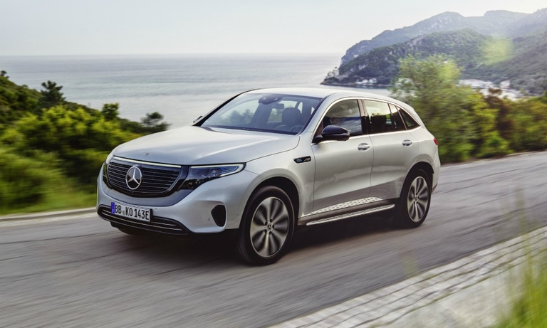 Mercedes aim to regain lost ground in EV race with EQC