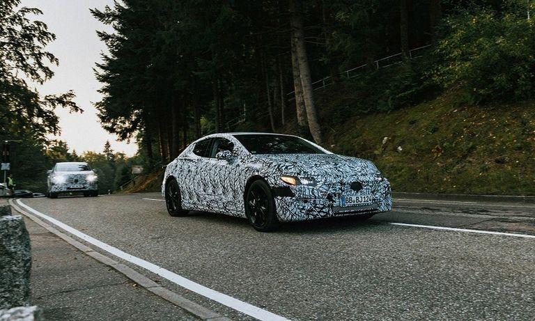 Mercedes preps debut of EQE EV, a Tesla Model S rival