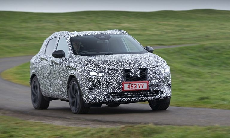 Nissan's delayed Qashqai will arrive next year