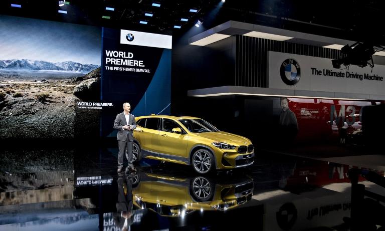 BMW pulls out of Detroit auto show