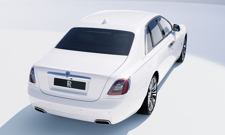 Rolls-Royce's simple, pure Ghost still offers pizzazz