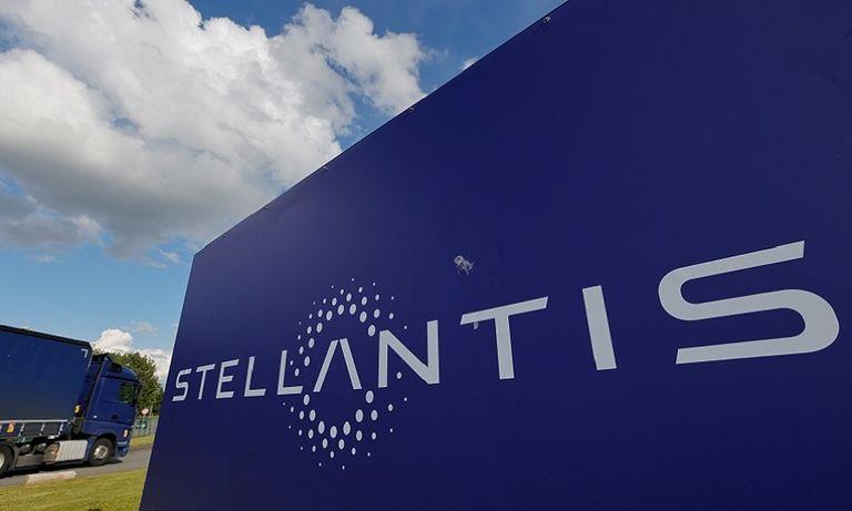 Stellantis sign