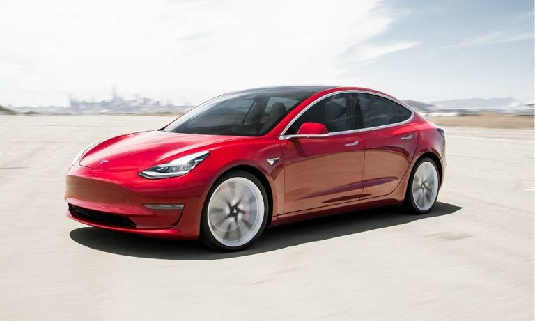 Tesla Model 3 carries midsize premium segment to a 21% increase but still trails German rivals