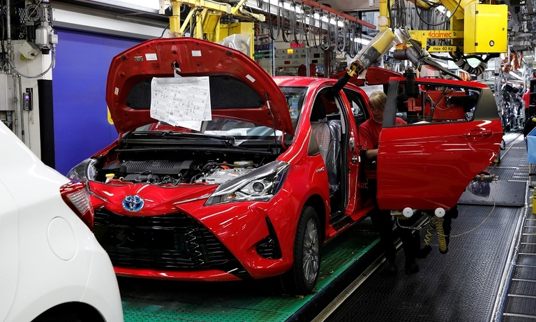 Toyota's European plants to remain closed