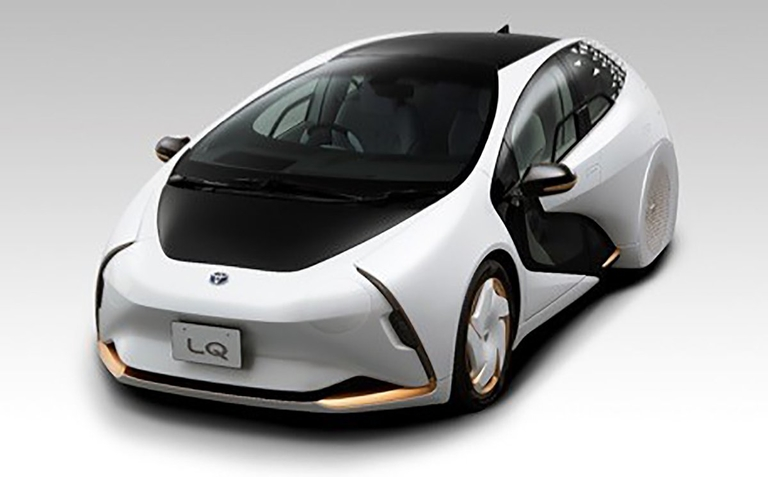 Toyota LQ concept is self-driving, communicating car of tomorrow