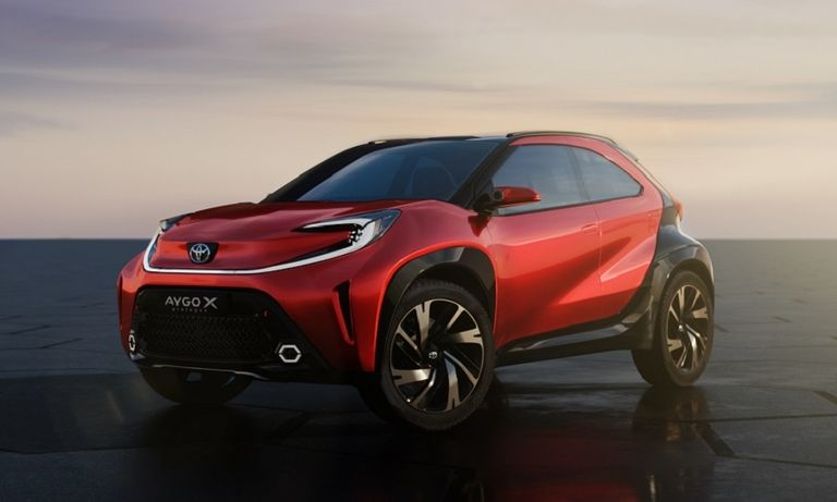 Toyota concept points to SUV look for Aygo successor