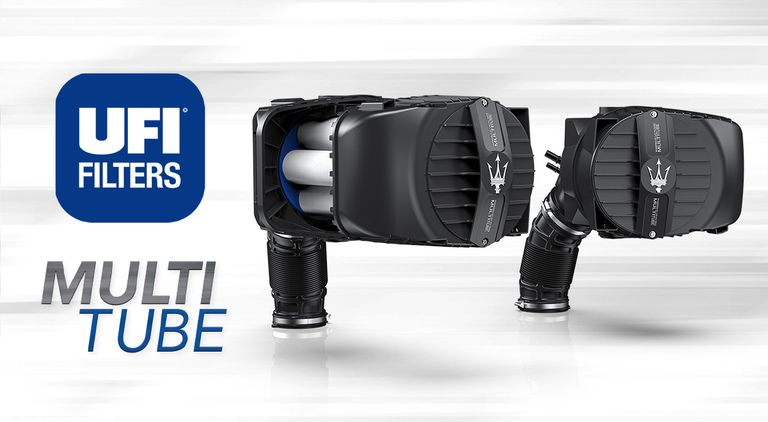 UFI MULTITUBE: The engine air that boosts the performance of the Maserati MC20