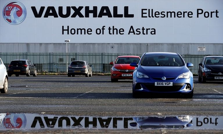 Union calls for investment at PSA's Vauxhall factory after Brexit deal