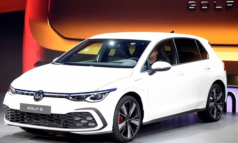 VW Golf No. 1 in Germany and 3 other markets in March