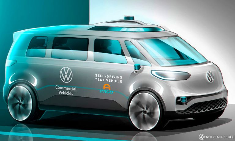 VW tests self-driving taxis in Germany ahead of 2025 launch