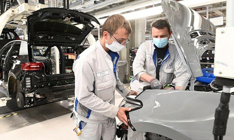 VW ID3 production Zwickau
