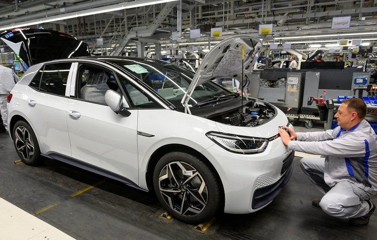 Can VW's and Tesla's costly EV goals survive coronavirus reality?