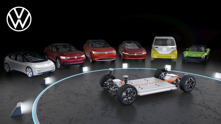 VW, BMW pick different platform paths to reach electric goals